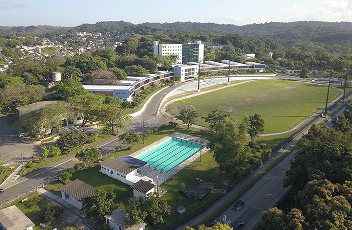 foto aérea do campus da UFRPE em Dois Irmãos, Recife