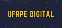 imagem azul com as palavras UFRPE digital